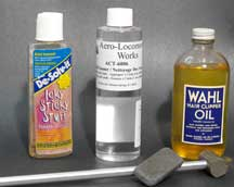 model railroad track cleaning solutions