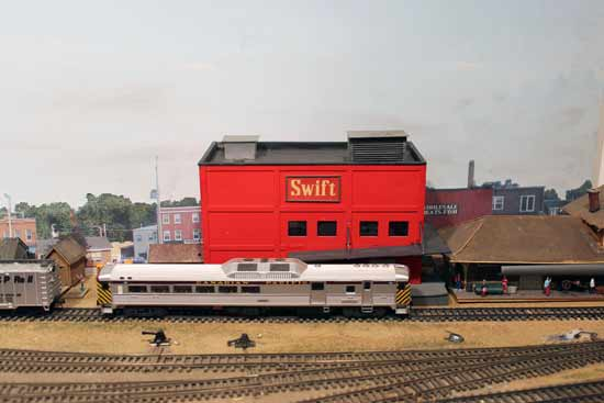 model railroad swift building