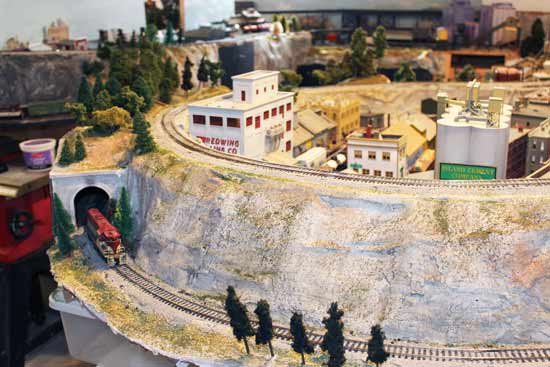 adding trees to an ho train layout