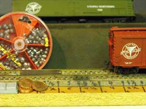 model train car weights