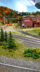 hoosac valley model railroad layout 41