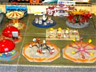 model railroad circus diorama 1