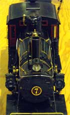 live steam engine 7 top view