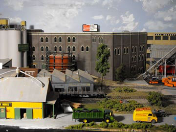 freelanced model railroad factory