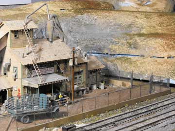 model railroad Finescale chemical factory