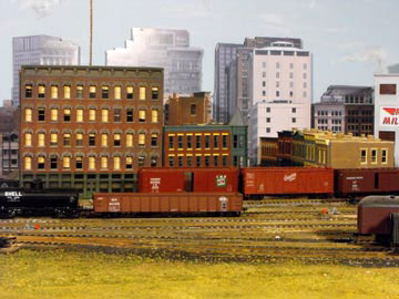 model railroad yard