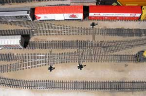 painted slip switches on freemo module