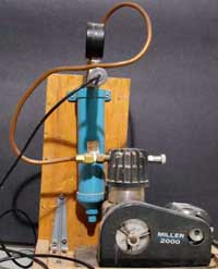 miller compressor for airbrushing