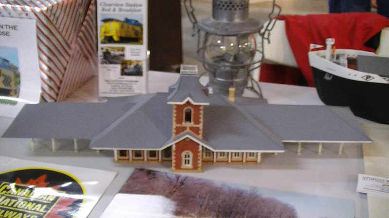 collingwood train station ho model