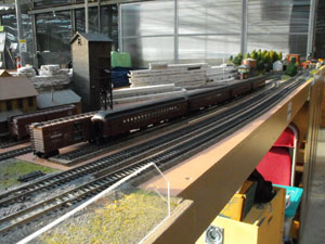 model railroad reversing module