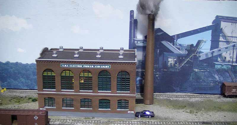 model railroad live loads power station