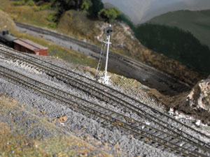 homasote drainage ditches for model railroads