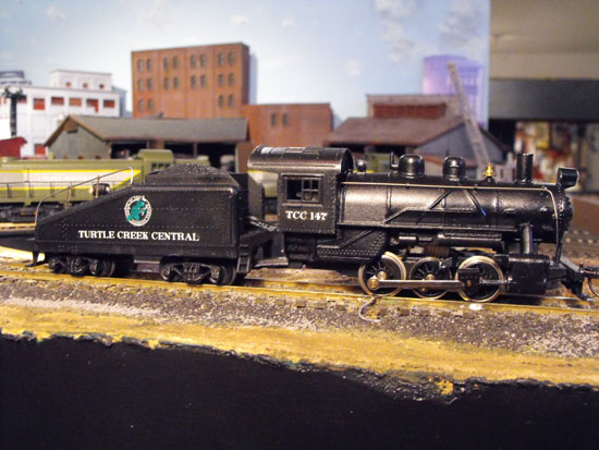 turtle creek ho model engine 147