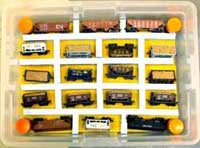 model train car tote container
