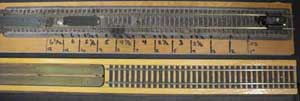 model train weight calculating board