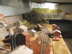 model train layout benchwork construction